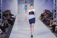 2012 Phoenix Fashion Week runway shows Royalty Free Stock Images