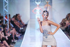 2012 Phoenix Fashion Week runway shows Royalty Free Stock Photo