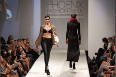 Phoenix Fashion Week Runway Shows 2011 Royalty Free Stock Images