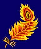 Phoenix feather  Royalty Free Stock Photos