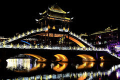 Phoenix , fenghuang ancient town in china Royalty Free Stock Image