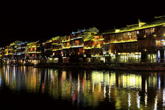 Phoenix , fenghuang ancient town in china Royalty Free Stock Photos