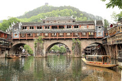 Phoenix , fenghuang ancient town in china Royalty Free Stock Photo