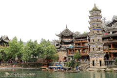 Phoenix , fenghuang ancient town in china Stock Photography