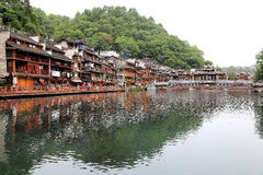 Phoenix , fenghuang ancient town in china Stock Image