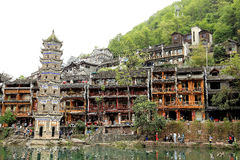 Phoenix , fenghuang ancient town in china Royalty Free Stock Images