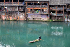 Phoenix , fenghuang ancient town in china Stock Photos