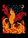 Phoenix the Firebird Royalty Free Stock Images