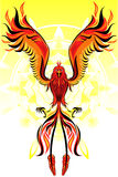 Phoenix Flame Bird Stock Image