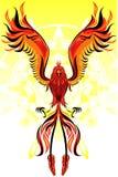 Phoenix Flame Bird. An Illustration of Phoenix Flame Bird Stock Image
