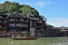 Phoenix forntida stad i det Hunan landskapet i Kina Arkivfoton