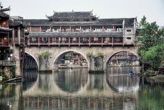 Phoenix forntida stad i det Hunan landskapet i Kina Royaltyfri Fotografi