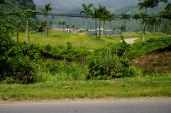 Phoenix Golf Resort. View of golf VIP near Hanoi Royalty Free Stock Images