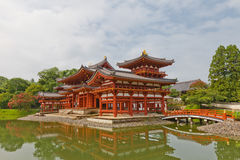 Phoenix Hall in Byodo-in Temple in Uji, Japan. UNESCO site Royalty Free Stock Photo