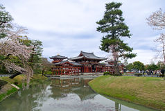 Phoenix Hall of Byodo-In Royalty Free Stock Photography