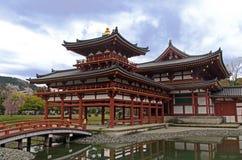 Phoenix Hall of Byodo-In Stock Photo