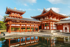 Phoenix hall at Byodoin Temple in Kyoto Royalty Free Stock Photo