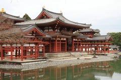 Phoenix-Halle von Byodoin-Tempel stockbild