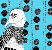 Phoenix-Illustration Lizenzfreies Stockfoto