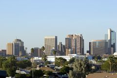 Phoenix im Stadtzentrum gelegen Lizenzfreie Stockfotografie