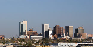 Phoenix-im Stadtzentrum gelegenes Panorama, AZ Lizenzfreie Stockbilder