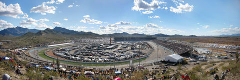 Phoenix International Raceway royalty free stock image