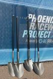 Phoenix International Raceway Ground Breaking Stock Photo