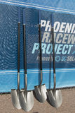 Phoenix International Raceway Ground Breaking Stock Photo