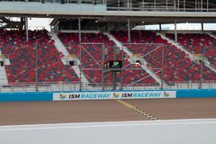 ISM Raceway - Phoenix Nascar and IndyCar. Phoenix ISM Raceway offered a sneak preview of it`s ongoing 178 million dollar upgrade project during Goodyear Monster stock photos