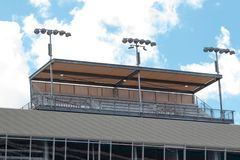 ISM Raceway - Phoenix Nascar and IndyCar royalty free stock image