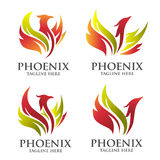 Phoenix logo concept Stock Photo