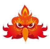 Phoenix mask  vector Stock Image