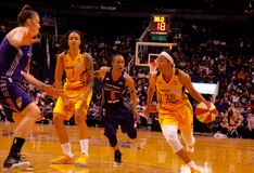 Phoenix Mercury vs Indiana Fever Royalty Free Stock Photo