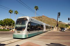 Phoenix Metro Light Rail Royalty Free Stock Images