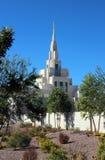 Phoenix, mormón del templo de AZ LDS Imagen de archivo libre de regalías