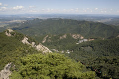 Phoenix Mountains China. Phoenix Mountains Fengcheng China Royalty Free Stock Photography