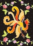 Phoenix na zmroku Zdjęcie Stock