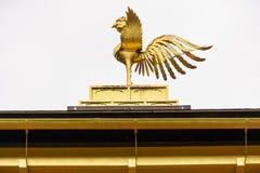 Phoenix ptak Kinkaku-ji świątynia w Kyoto Obrazy Stock
