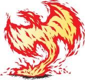 Phoenix renacida Fotografía de archivo libre de regalías