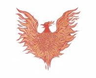 Phoenix resning! Arkivfoto