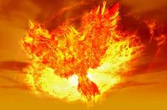 Phoenix rising Stock Image