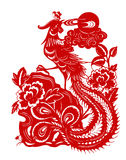 Phoenix rossa Immagine Stock Libera da Diritti