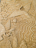 Phoenix rzeźba obrazy royalty free