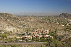 Phoenix and Scottsdale, AZ Stock Image