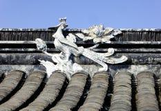 Phoenix sculpture Stock Photo