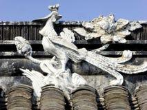 Phoenix sculpture Royalty Free Stock Image