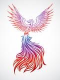 Phoenix Soaring Stock Image