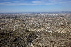 Phoenix from South Mountain Stock Image