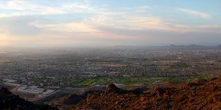 Free Phoenix South Mountain Panorama Royalty Free Stock Photography - 15654177
