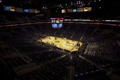 Phoenix Suns Arena, US Airway center. A game between Phoenix Suns and Magic Stock Photography